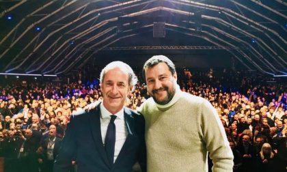 Zaia, dal PalaGeox di Padova arriva l'investitura di Salvini
