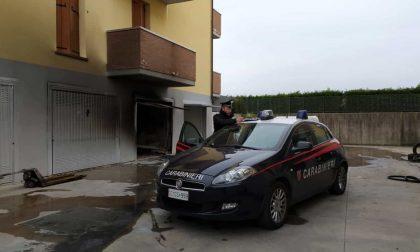 Montagnana: a fuoco un garage, fuori uso 4 appartamenti