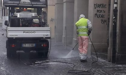 Padova: all'alba il via all'igienizzazione delle strade