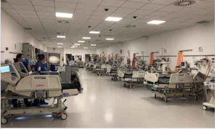 Covid Hospital Schiavonia: dimesso il primo paziente curato con il plasma iperimmune
