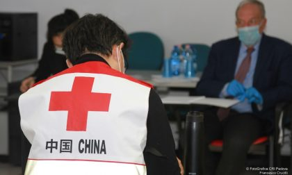 Medici cinesi: a Padova arrivano i rinforzi della Croce Rossa