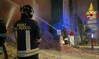 Montebello Vicentino, incendio nell'impianto smaltimento rifiuti: oggi i risultati Arpav