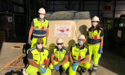 Schiavonia, al via l'allestimento dell'ospedale donato dal Qatar