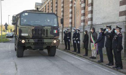Coronavirus, il sindaco Giordani accoglie a Padova 25 feretri arrivati dalla bergamasca