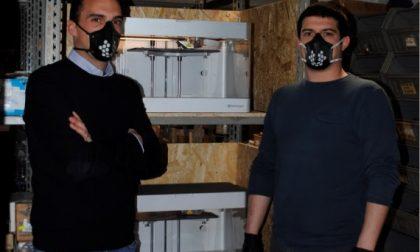 Azienda padovana si converte: dall'illuminazione alle mascherine in 3D