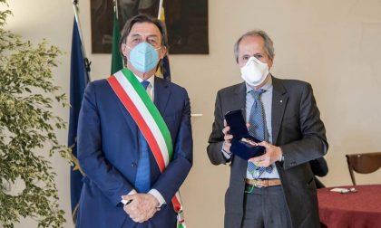 Crisanti premiato con il Sigillo della città di Padova