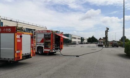 Si rompe un tubo del gas a Carmignano di Brenta, nessun pericolo