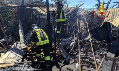 Incendio a Borgo Veneto: intervengono i Vigili del fuoco