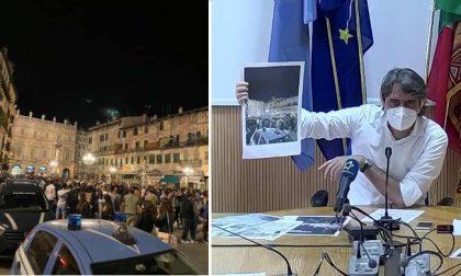 Movida sregolata a Verona, il sindaco vieta di consumare bevande alcoliche all'aperto