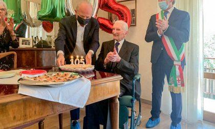 Padova: festeggia 105 anni  Antonio Vettore, il padovano più anziano