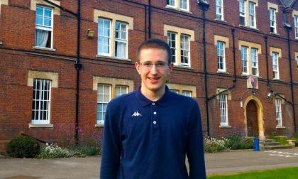 Giulio Deangeli: il super secchione padovano conquista tre borse di studio a Cambridge
