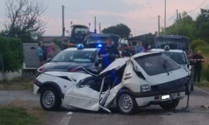 Saccolongo: auto in un canale, muoiono due amici