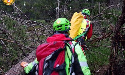 Bloccati sul bordo del dirupo, salvati dal Soccorso alpino tre ragazzi padovani – FOTO