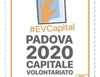 Padova capitale europea del volontariato 2020: da oggi c'è anche il francobollo