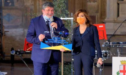 Maria Casellati ha ricevuto la targa di Presidente ambasciatori di Padova Capitale Volontariato