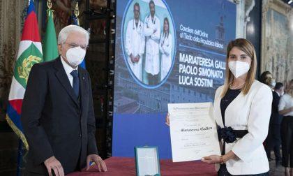 """Mariateresa Gallea, medico in """"trincea"""" a Vo' ora è Cavaliere della Repubblica"""