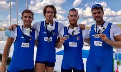 Canotaggio, Luca Chiumento medaglia d'argento ai Campionati Europei assoluti in 4 di coppia
