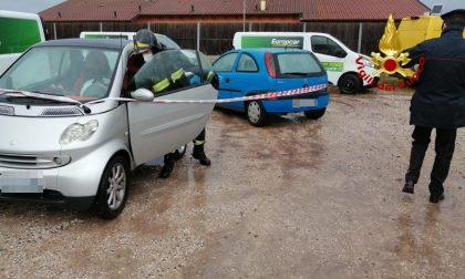 Fattorino colpito da un fulmine nel parcheggio a Vigonza: rianimato dai Vigili del Fuoco