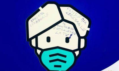 """Imbrattati i cartelli a favore dell'uso delle mascherine, Giordani: """"Mi fate pena"""""""