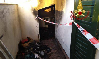 Attimi di paura a Pozzonovo: incendio in una mansarda adibita a lavanderia