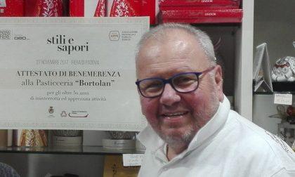 Il Covid ha strappato alla vita Gianpietro Bortolan, storico pasticcere di Mestrino