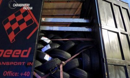 Camion proveniente dalla Romania si ferma a Monselice: a bordo 4 giovani clandestini