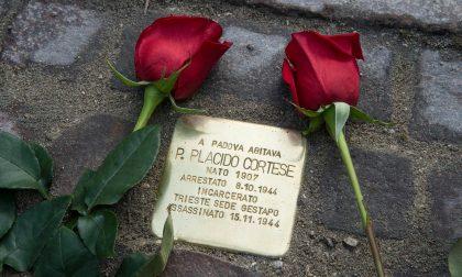 Posate 4 Pietre d'inciampo a ricordo di altrettanti padovani assassinati dai nazisti