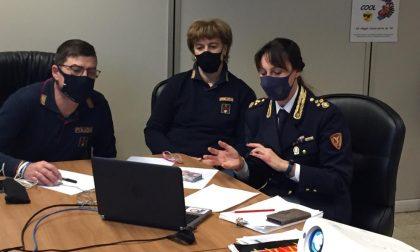 Sono ripresi gli incontri con gli studenti: didattica a distanza anche per la Polizia