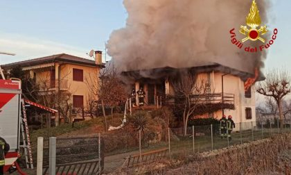 Tragedia a San Giorgio in Bosco: forte esplosione e poi l'incendio nella casa, morti due coniugi