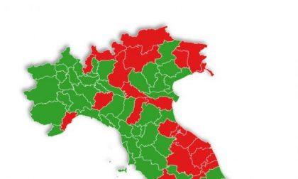 E se le zone fossero per provincia? Padova e tutto il Veneto sarebbero verdi