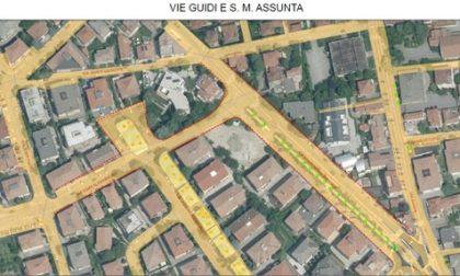 Nuovi marciapiedi in arrivo nelle vie Guidi e Santa Maria Assunta