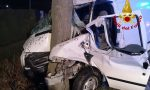 Incidente a Piove di Sacco: perde il controllo del furgone e finisce contro un albero