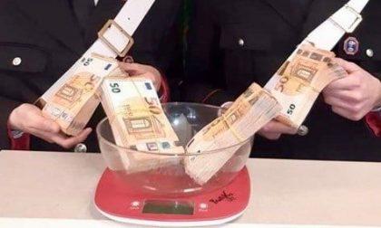 Pusher 24enne fermato per strada con 40mila euro in tasca