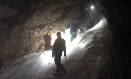 Difficile intervento sul Monte Cornetto, salvati tre alpinisti