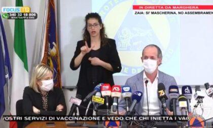 """Veneto ancora in zona rossa, Zaia: """"Rt da arancione, ma..."""""""
