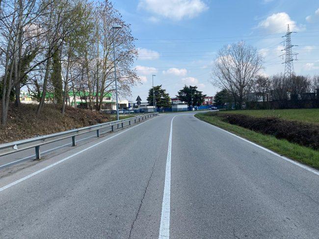 Ciclista investito, identificato il pirata della strada di via Vigonovese