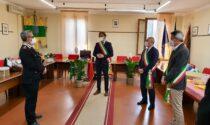 Prima visita del Generale Antonio Paparella ai comuni colpiti dalla pandemia