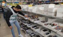 """Maxi sequestro di prodotti con marchio """"CE"""" contraffatto: occhiali da sole, mascherine e materiale hi-tech"""