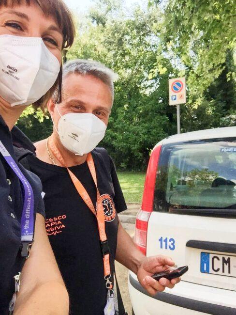 L'ospedale arriva a casa del paziente, l'innovativa esperienza del team accessi vascolari a Padova