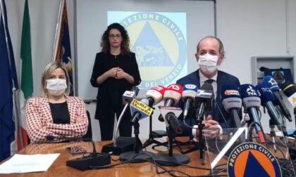 """Covid, Zaia: """"Veneto torna arancione""""   +1567 positivi   Dati 2 aprile 2021"""