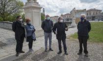 Prato della Valle, le foto delle statue in fase di restauro
