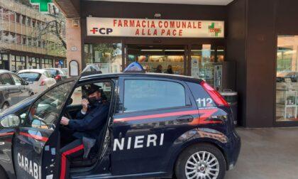 """Rapina alla farmacia comunale """"Alla Pace"""": malvivente fuggito in bici con 100 euro"""
