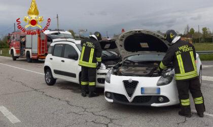 Incidente a Borgoricco, scontro sulla provinciale 88: un ferito