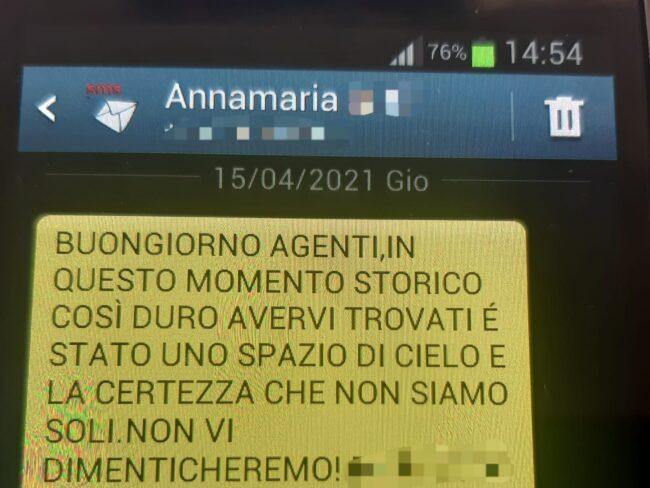 """La Graziella della signora Annamaria ritrovata dagli agenti: """"Una benedizione avervi incontrati"""""""