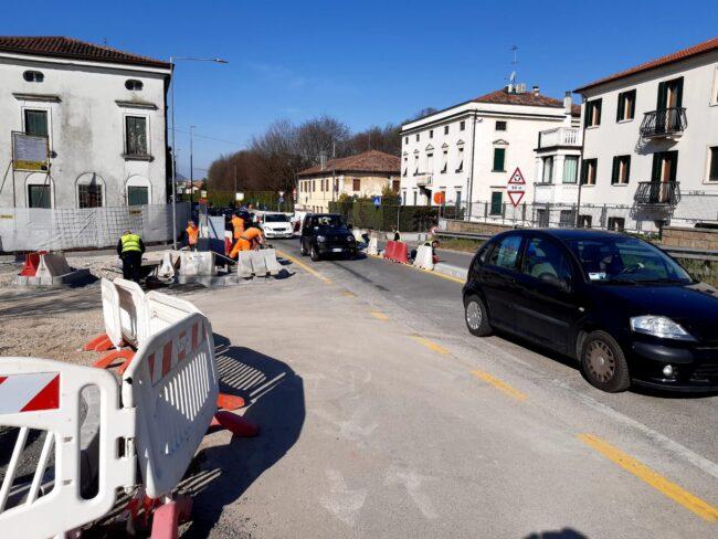 Nuova passerella sul canale Brentella, da fine aprile si potrà utilizzare