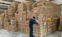 Il video del maxi sequestro di 7 milioni di mascherine e saturimetri non conformi agli standard di sicurezza