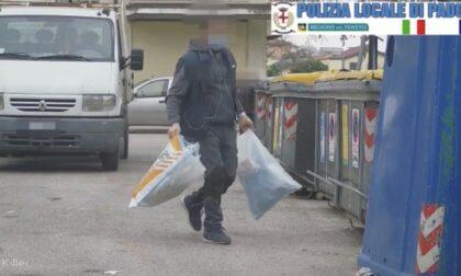 """Furbetti dei rifiuti, le telecamere smascherano il """"sommerso"""": 119 abbandoni in poco più di un mese"""