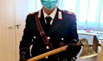 Padova, minaccia la moglie con l'ascia: denunciato 52enne