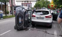 Tamponamento tra due auto a Padova: ferita una donna