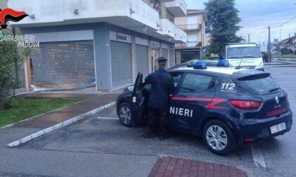 """Spaccata nella notte al """"Racing Bike Sport"""" di Selvazzano, vetrina sfondata con l'auto"""